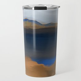 Lake with a Lagoon Travel Mug