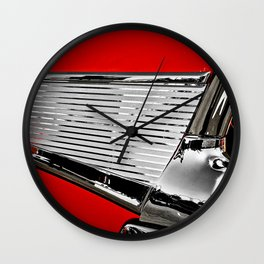 57' Chevy Fin Wall Clock