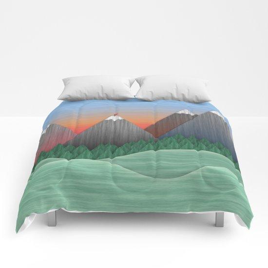 Le grimpeur du val Comforters