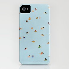 Dusty blue II iPhone (4, 4s) Slim Case