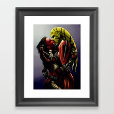 SWTOR - Kiss Framed Art Print