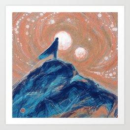 Wandering & Wonder Art Print