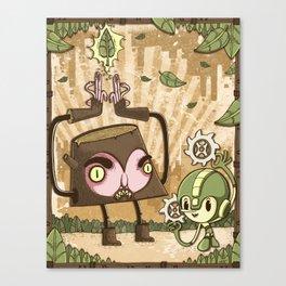 MegaWood Canvas Print