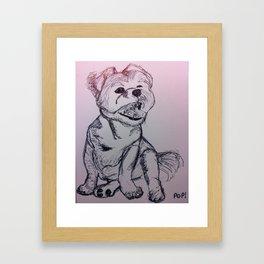 PopPup Framed Art Print