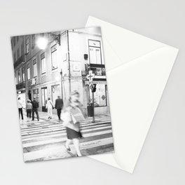 lisboa -noite Stationery Cards