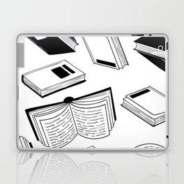 BOOK OBSESSION MONOCHROME PATTERN Laptop & iPad Skin