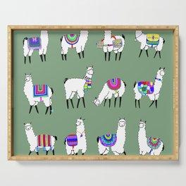 Llama Love Serving Tray