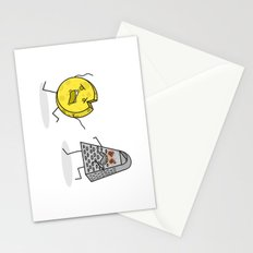 RUN CHEESE WHEEL! Stationery Cards
