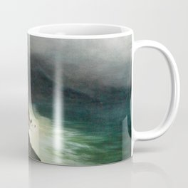 Coastal Road Near Sorrento-amalfi - Digital Remastered Edition Coffee Mug