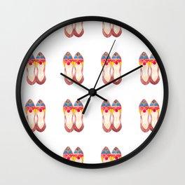 Mojari magic Wall Clock