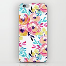 Bold Floral iPhone Skin