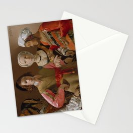 The Fortune Teller by Georges de La Tour Stationery Cards