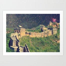 space wall Art Print