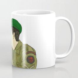 Wartime Lovers  Coffee Mug