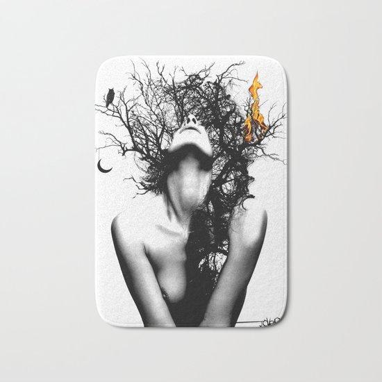 WISDOM AND FIRE Bath Mat
