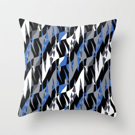 Bright abstract geometric pattern.4 Throw Pillow
