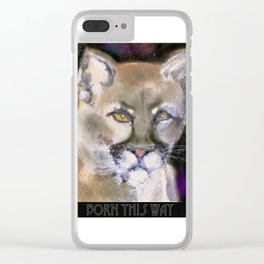 Born This Way Clear iPhone Case