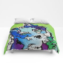 Piper the Husky (Limited Time Offer) Comforters