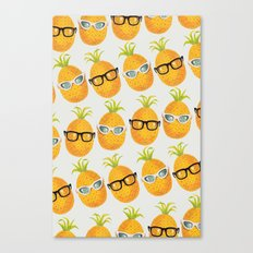 Pineapple Party! Canvas Print