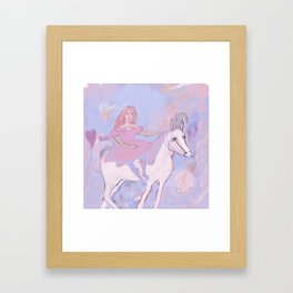 Caroline's Circus of Wonder and Sea Shells Framed Art Print