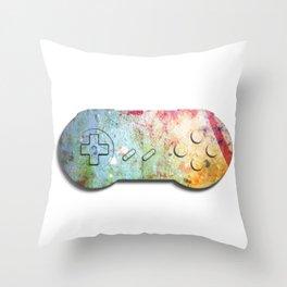 SNES Controller Throw Pillow