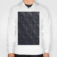 lv Hoodies featuring Black LV by I Love Decor