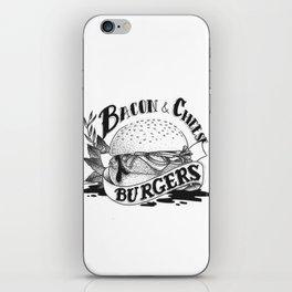 Baco & Cheese Burgers iPhone Skin