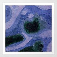 geode Art Prints featuring Geode by GabriielleViictoriia