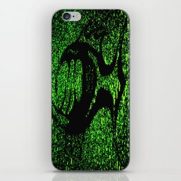 Tooth fish Green iPhone Skin