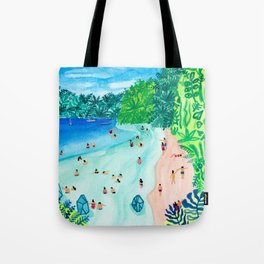 Glassy Island Tote Bag