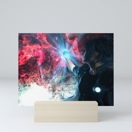 Final Fantasy XV - Noctis and the Ring of Lucii Mini Art Print