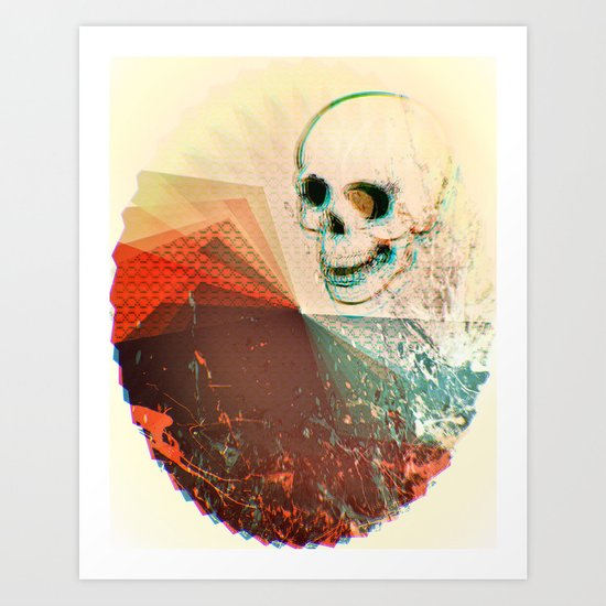 death comes unexpectedly Art Print