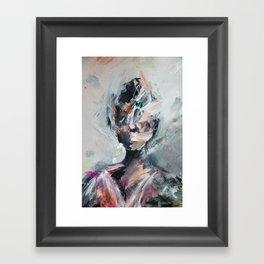 sonnet xvii portrait Framed Art Print