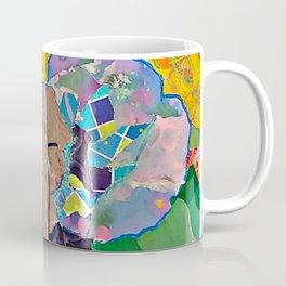 Torn Paper Elephant Coffee Mug