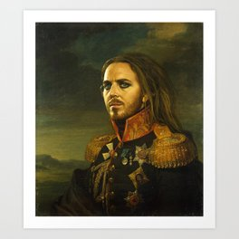 Tim Minchin - replaceface Art Print