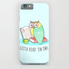 Reading Owl iPhone 6s Slim Case