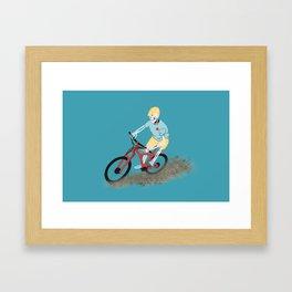 Gnarly Charlie Framed Art Print