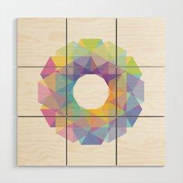 Fig. 036 Colorful Circle Wood Wall Art