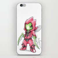 projectrocket iPhone & iPod Skins featuring The Deadliest Ninja Warrior by Randy C