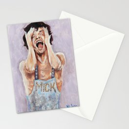 Semi-expressionist Mick Stationery Cards