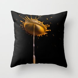 Abstract Flower 2 Throw Pillow