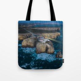 Portugal Coastline Tote Bag
