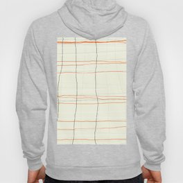 Straight lines with a twist no. 3 Hoody