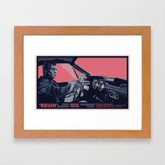 BULLITT - 02 Framed Art Print
