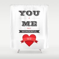 lyrics Shower Curtains featuring Lab No. 4 - Songs Lyrics Quotes Poster by Lab No. 4