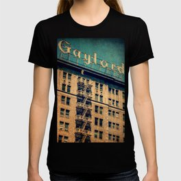 1924 Gaylord Apartments Vintage Neon Sign  T-shirt