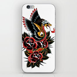 Eagle serpent iPhone Skin