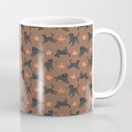 Black Lab Love Coffee Mug