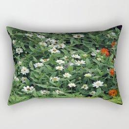 Tiny Flowers Rectangular Pillow
