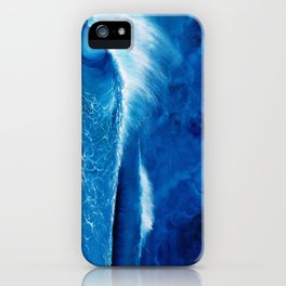 Pipeline in the night iPhone Case